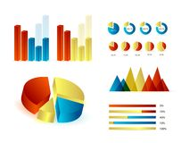 Infographics elements. Editable vector illustration. Eps 10 Royalty Free Stock Photos