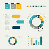 Infographics elements. Royalty Free Stock Photography