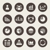 Infographics Elements.Icon set royalty ilustracja