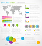 Infographics Elements. Stock Images