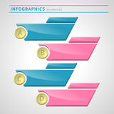Infographics elements. With space for text vector illustration