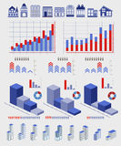 Infographics elements Stock Images