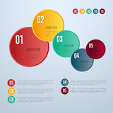 Infographics elements vector template. Abstract infographics elements concept with different stage and parts elements. Layout of data infographics. Timeline and Royalty Free Stock Images