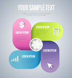 Infographics elements vector template. Abstract infographics elements concept with different stage and parts elements. Layout of data infographics. Timeline and Stock Images