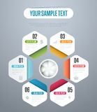 Infographics elements vector template. Abstract infographics elements concept with different stage and parts elements. Layout of data infographics. Timeline and Stock Photo