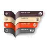 Infographics elementy Zdjęcia Stock