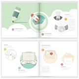 Infographics elementy Obraz Stock