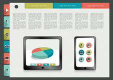 Infographics folder collection. Stock Photography