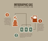 Infographics fuel Royalty Free Stock Image