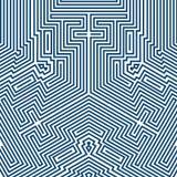 Infographics Fundo futurista do vetor Imagens de Stock