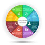 Infographics-Geschäftselemente Stockfoto