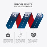 Infographics healthy Stock Photos