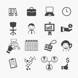 Infographics icons Stock Photo