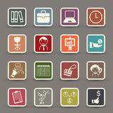 Infographics icons Stock Images