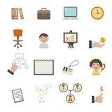 Infographics icons set Royalty Free Stock Photos