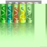 Infographics ikony 5 kawałków mówcy Zdjęcie Stock