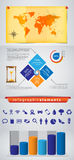 Infographics, Information Graphics Royalty Free Stock Photo