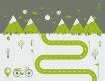 Free Infographics Landscape Background Vector Illustration Stock Photo - 77951950