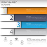 infographics mínimo 3d Vector Foto de archivo
