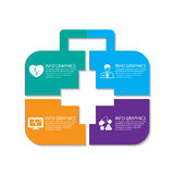 Infographics medico Immagine Stock