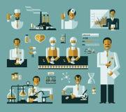 Infographics medico Fotografia Stock Libera da Diritti