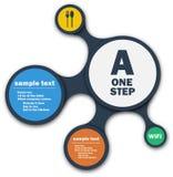 Infographics metasphere stock image