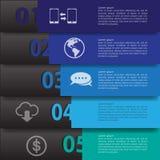 Infographics minimal Vecteur Photos libres de droits