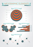 Infographics. Modern statistic Royalty Free Stock Photo