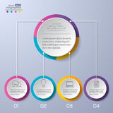 Infographics moderne images stock