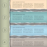 Infographics moderne template1 Photo stock