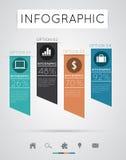 Infographics moderno Fotografia Stock