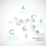 Infographics options Banner Stock Photo