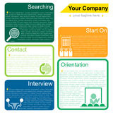 Infographics Personnel Stock Photography