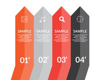 Infographics pilar Arkivfoto