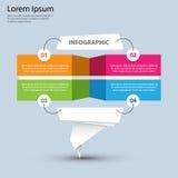 Infographics prezentaci szablon - 1 Obraz Stock
