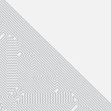 Infographics Priorità bassa futuristica di vettore Fotografia Stock Libera da Diritti
