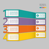 Infographics. Process chart module. Royalty Free Stock Images