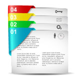 Infographics projekt Zdjęcie Stock