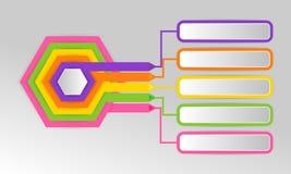 Infographics projekta wektor i marketingowe ikony możemy używać dla ilustracja wektor