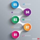 Infographics projekta wektorowy szablon ilustracja wektor