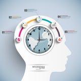 Infographics projekta wektorowy szablon ilustracji