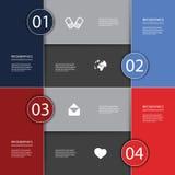 Infographics räkning royaltyfri illustrationer