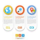 Infographics sökandelägen Fotografering för Bildbyråer