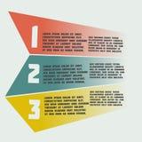 Infographics semplice degli elementi Fotografie Stock Libere da Diritti