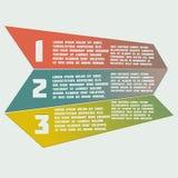Infographics semplice degli elementi su un fondo leggero Immagini Stock