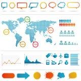Infographics set. Stock Photos