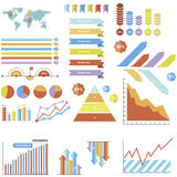 Infographics Royalty Free Stock Photos