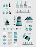 Infographics set. Royalty Free Stock Photography