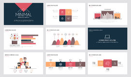 Infographics slide template 4 Stock Photos