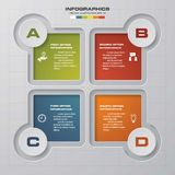 Infographics 4 steps design, vector illustration. EPS10 Vector Illustration